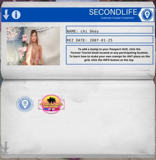 SecondLifeのパスポート