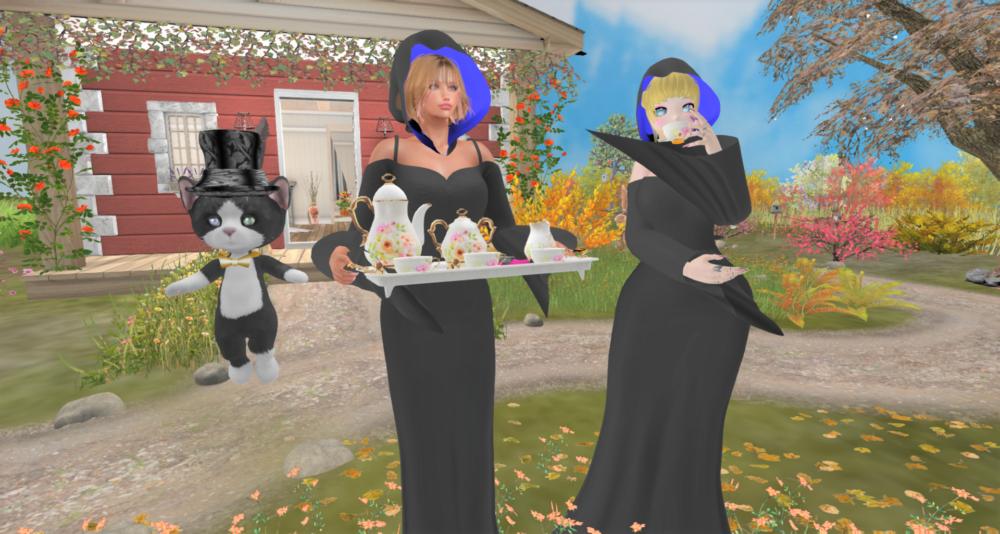黒メイドさんのお茶会day